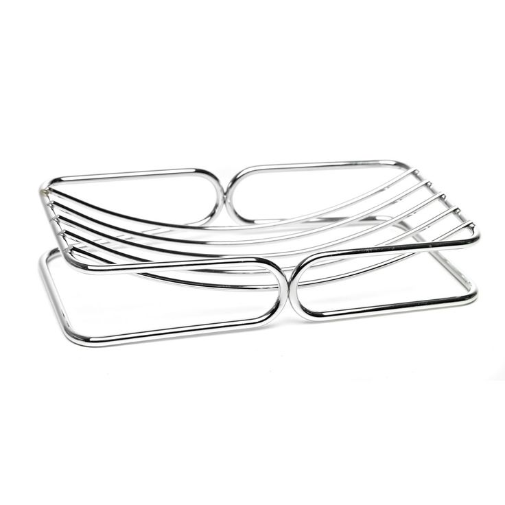 wilko soap dish chrome effect