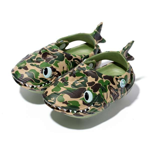 The A Bathing Ape x Polliwalks Capsule Collection for Bape Kids trendhunter.com