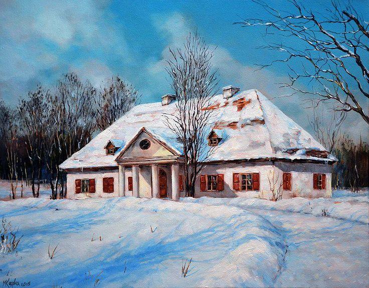 Magdalena Kępka - Zimowy dwór
