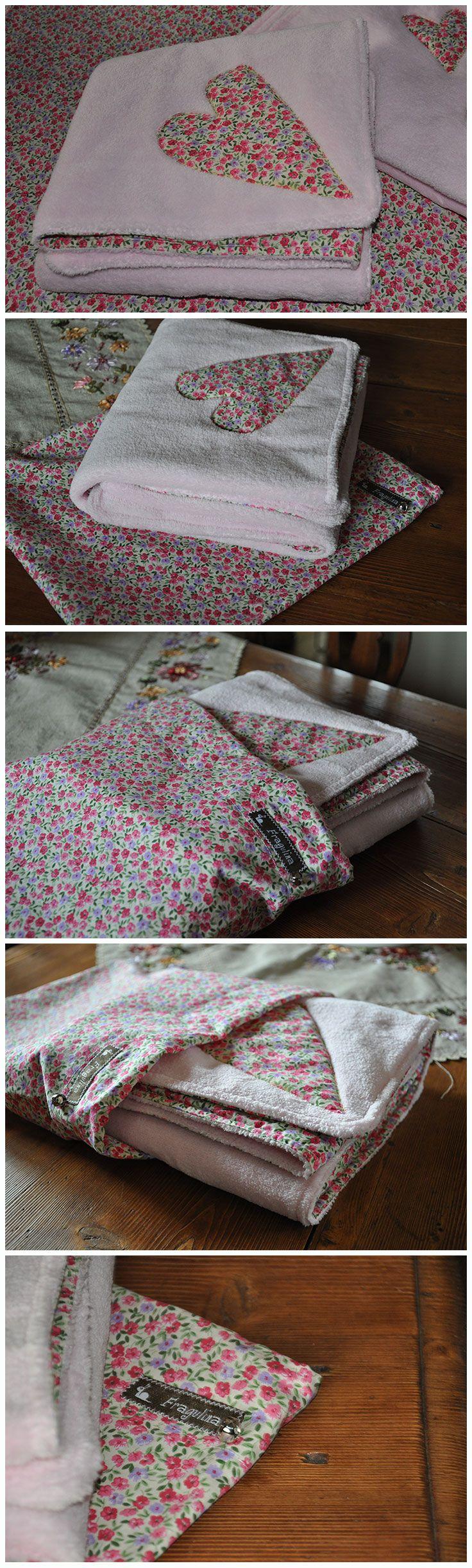 New baby-born gift: warm, soft Fragulina's blanket with sack. #diy #fragulina #sewing