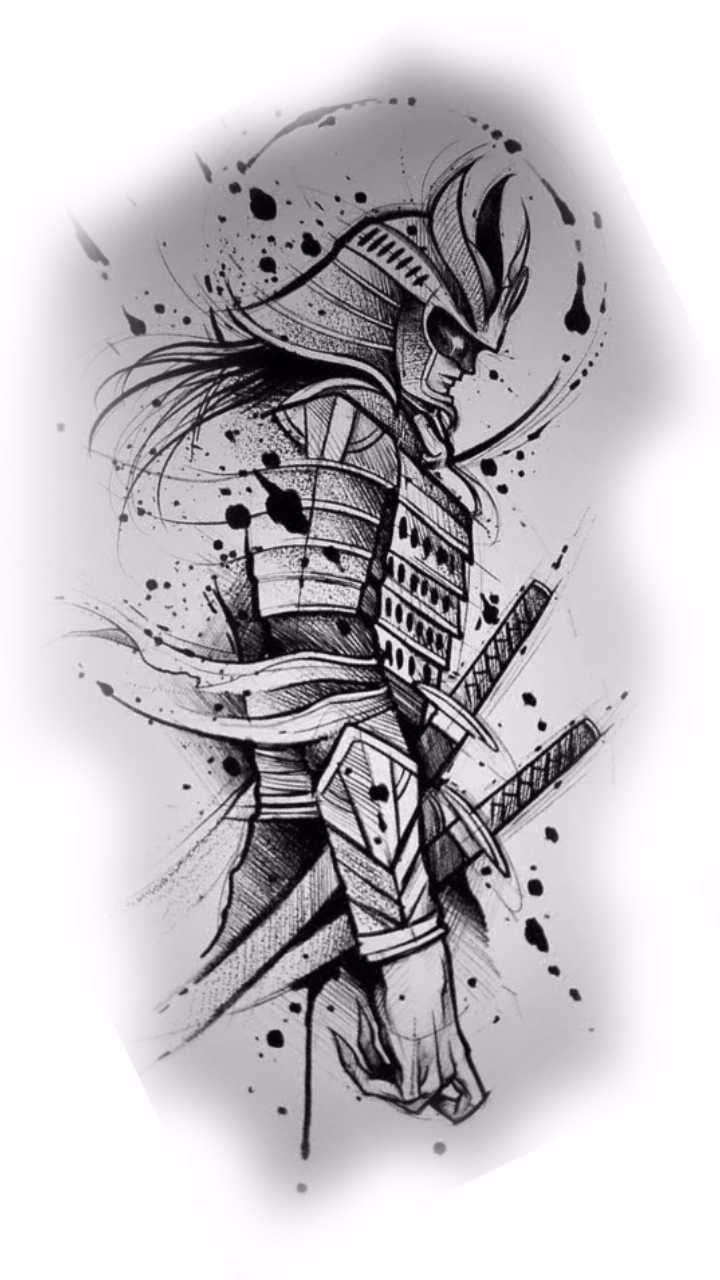Melhores dicas e ideias de tatuagens samurai tattoo