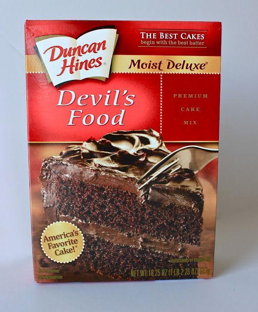 Chocolate cake mix and pumpkin puree