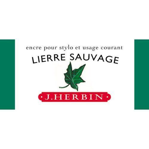 J. Herbin Fountn Pen Ink 30Ml Lierre Sauvage