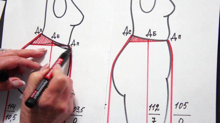 Расход ткани на юбку - карандаш со Светланой Поярковой