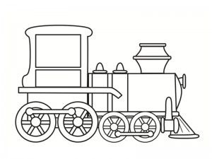 Coloriage train