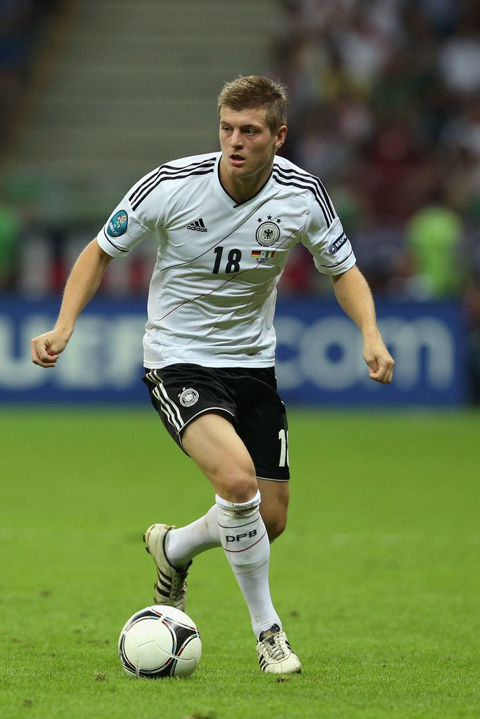 Toni Kroos is a German footballer who plays as a midfielder for FC Bayern Munich in the German Bundesliga and the Germany national football team. Wikipedia
