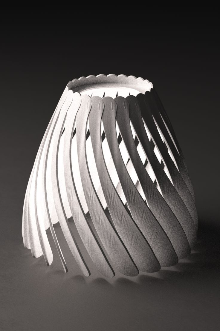 fluid lampshade | the future is unique