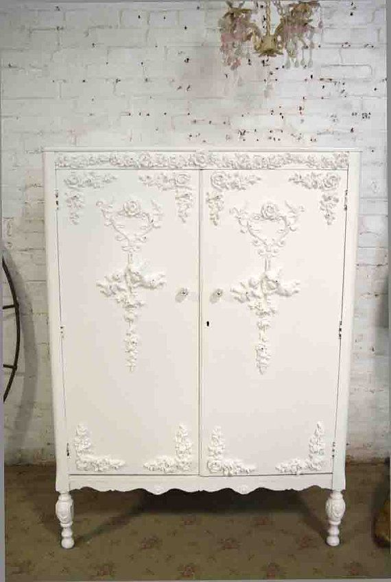 Armoire Painted Cottage Chic Shabby French By Paintedcottages