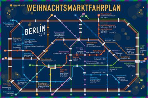 ✴✴✴ Die Weihnachtsmarkt Berlin Übersicht ✴✴✴ Entdecke jetzt die Berliner Weihnachtsmärkte mit dem Berliner Weihnachtsmarktfahrplan ✴✴✴