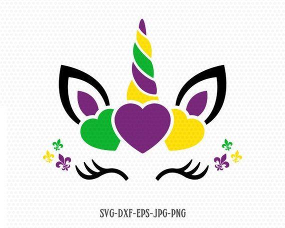 Download Mardi Gras unicorn svg, Unicorn Svg, Unicorn clipart ...