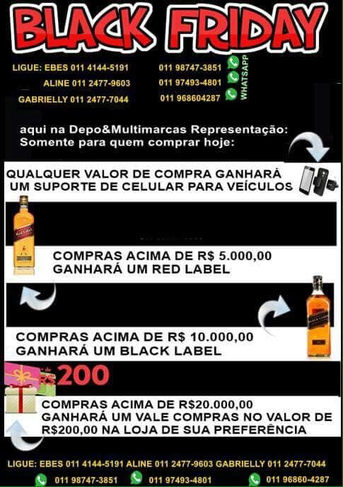 IMPORTADORA DEPO: BLACK FRIDAY DAS PEÇAS