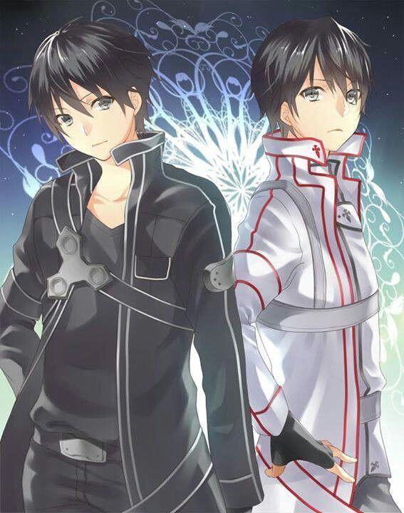 Kirito. Though, Kirito would never be caught in the KOB uniform.