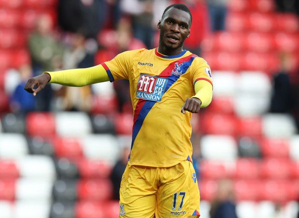 Christian Benteke of Crystal Palace celebrates at the end of the match between Sunderland and Crystal Palace FC on September 24, 2016 in Sunderland, England.