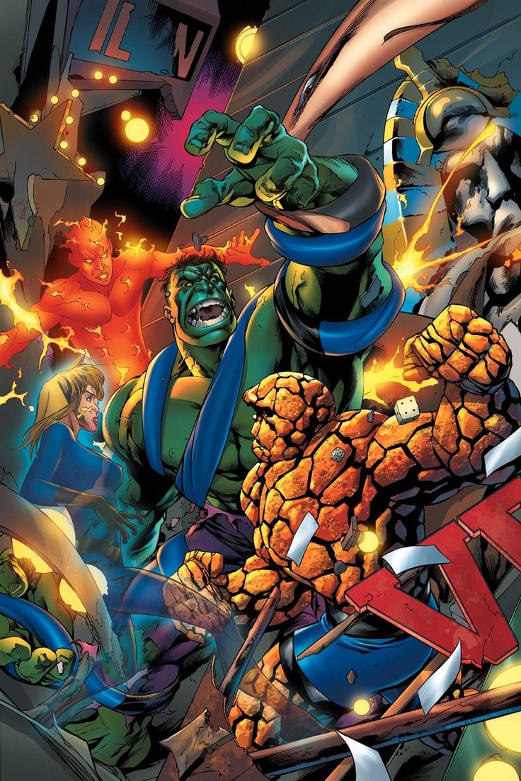 Hulk and the Fantastic Four #533 Cover by Mike Mckone
