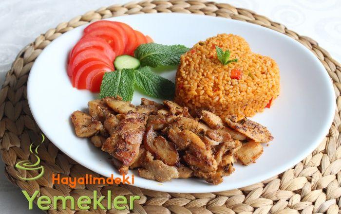 Tavuk Döner ( Kebab ) Tarifi