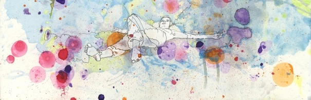 Wider Contemplation by Sophia Burns: Watercolor Paper