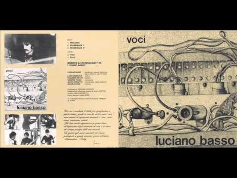 Luciano Basso - Voci (1976)