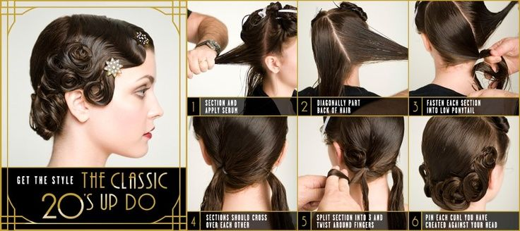 how to do the hairdo marcel - Google Search