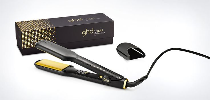 With all the heat and styling capabilities of the ghd gold classic styler, this max size makes styling quicker and easier when you've an abundance of hair.  Smoother gold plates glide effortlessly through the hair to make straightening longer and thicker hair even quicker and easier, while their contoured edges help to create perfect curls and waves, all with a high shine, salon-style finish.