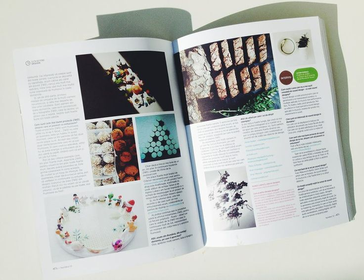 All about ZWEI in the new issue of Institute Magazine  More on: www.zwei.ro/
