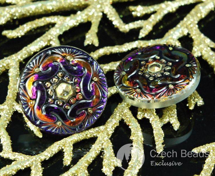 ✔ What's Hot Today: Handmade Czech Glass Buttons Small Gold Flower Purple Volcano Size 8, 18mm 1pc https://czechbeadsexclusive.com/product/handmade-czech-glass-buttons-small-gold-flower-purple-volcano-size-8-18mm-1pc/?utm_source=PN&utm_medium=czechbeads&utm_campaign=SNAP #CzechBeadsExclusive #18Mm_Czech_Button, #18Mm_Glass_Button, #Button_18Mm, #Czech_Button_8, #Czech_Flower_Button, #Czech_Hexagon_Button, #Flower_Glass_Button, #Glass_Button_8, #Gold_Hexagon_Button, #Handmad