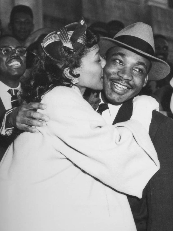 Coretta & Martin Luther King Jr.