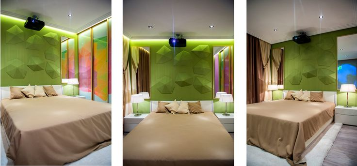 Hálószoba átalakítás - 14m2-es, kényelmes helyiség színekkel pihenésre és pozitív energiára hangolva