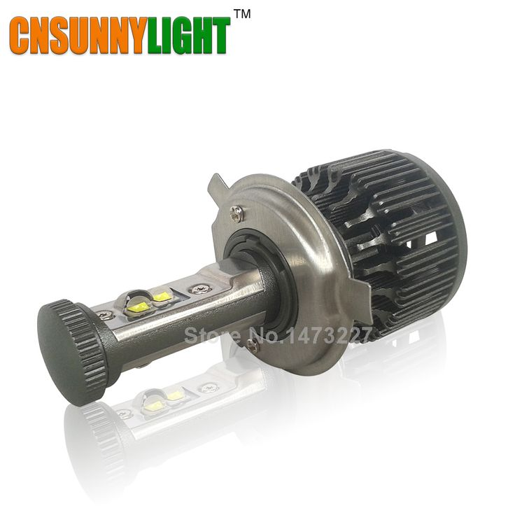 CNSUNNYLIGHT LED H4 Motorrad-scheinwerfer-birnen 4000LM 40 Watt Hallo/Lo Conversion Kit 3000 Karat 4300 Karat 6000 Karat 8000 Karat P43T Motor Bike Scheinwerfer
