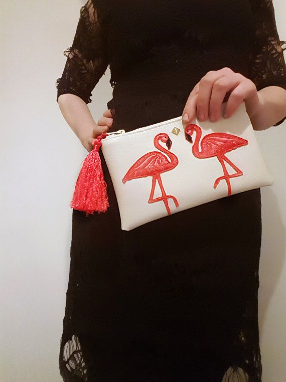 Check out this item in my Etsy shop https://www.etsy.com/uk/listing/513107283/water-resistant-bag-flamingo-zipper-bag