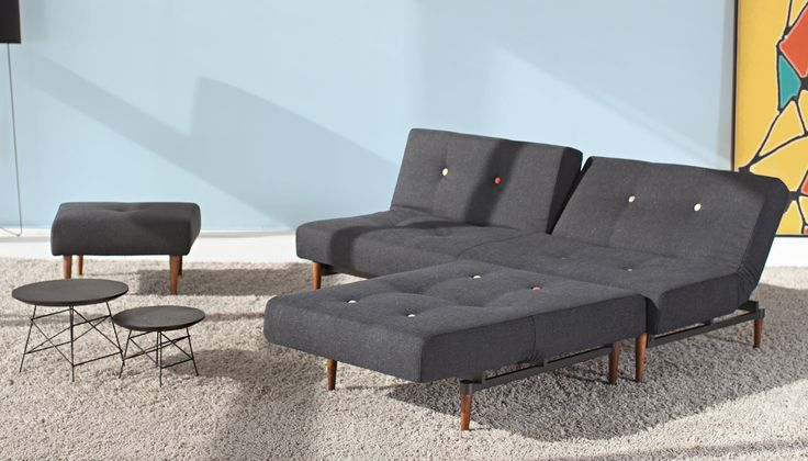Paying homage to iconic Scandinavian furniture, the Knap combines modern functionality with Mid-century form. Designed in Denmark by Per Weiss, this versatile chair and footstool pairs perfectly with the Knap sofa bed or as a standalone piece, adapting to any space no matter what the size or shape.