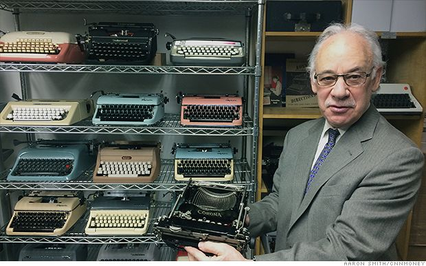 Meet the guy who fixes Tom Hanks' typewriter. Paul Schweitzer of Gramercy Typewriter is still repairing typewriters after 55 years in the business.