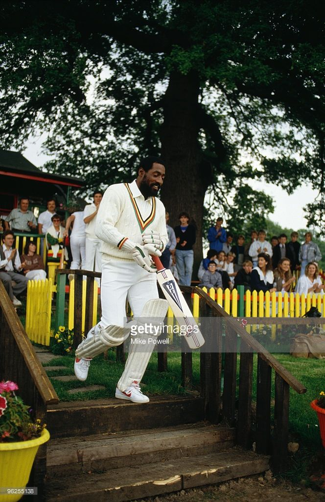 West Indian cricketer Viv Richards, May 1985.