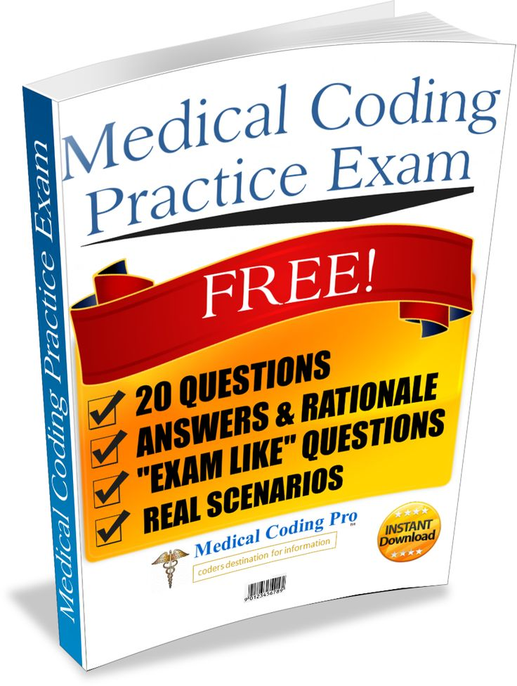 exam 38176000 med billing coding Become a certified billing & coding specialist (cbcs) this medical billing and coding certification will help prepare you for a rewarding career.