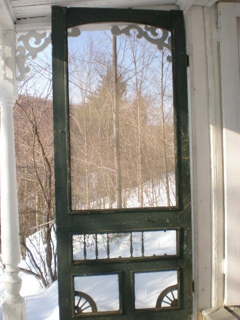 Captivating Old Fashioned Screen Door