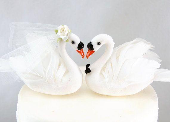 Elegant Purple Wedding At Black Swan Lake: 27 Best Wedding Cake Toppers Images On Pinterest