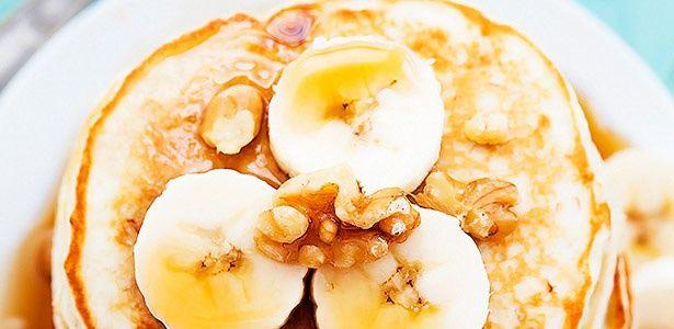 Banana pecan crumpets
