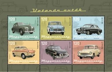 Hungary - 2017 Oldtimer Cars M/S (Pre-Order) (MNH)