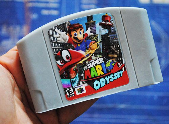 N64 Cart Soap: Retro and geeky Handmade parody cartridge soap