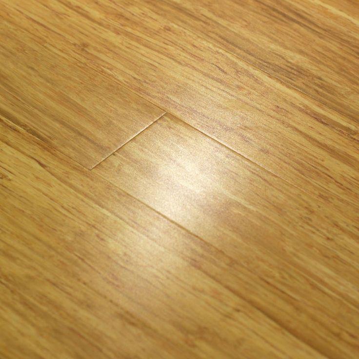 Strand Woven Bamboo Flooring - Natural