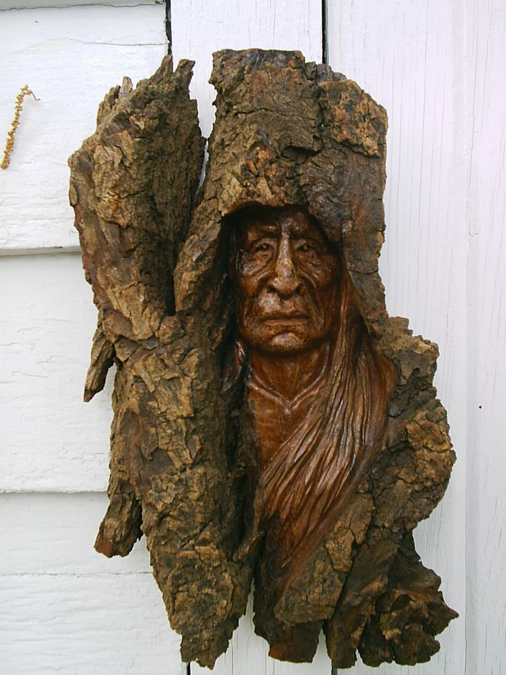 Wood spirit awesome woodcarvings pinterest