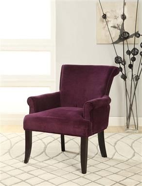 Best Accent Chairs Images On Pinterest Accent Chairs - Purple accent chairs living room