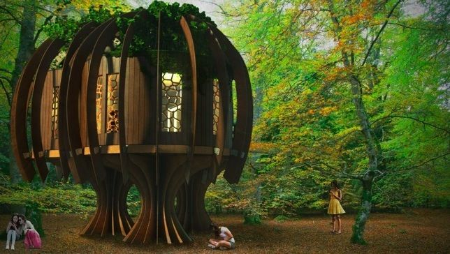Blue Forest's Quiet Treehouse - Just dreamy :)