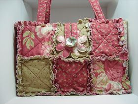 Lady & the Stamp: Rag Quilt Purses