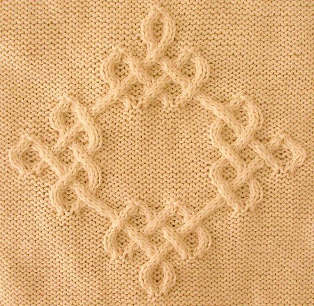 Ravelry: Celtic Diamond (#04) pattern by Devorgilla's Knitting (sometimes...)