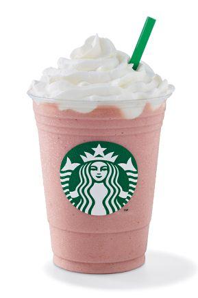 Starbucks - Frapuccino de frutilla