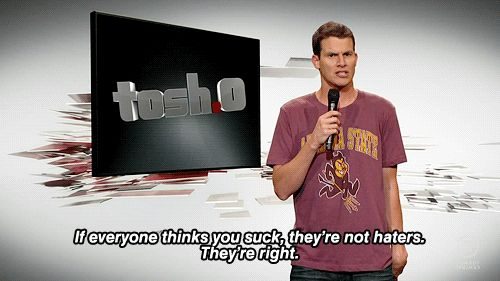 I don't always like Tosh, but this is so true.