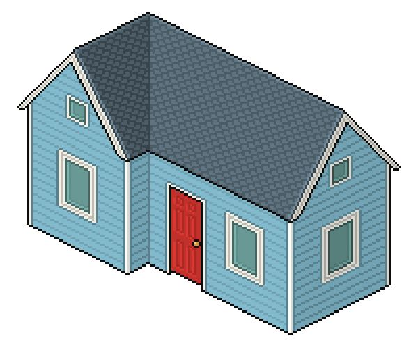 Create an isometric pixel art house in Adobe Photoshop with this free tutorial from Tuts+ Design and Illustration