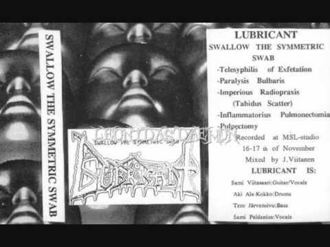 LUBRICANT - Swallow the Symmetric Swab ◾ (demo 1992, Finnish death metal)