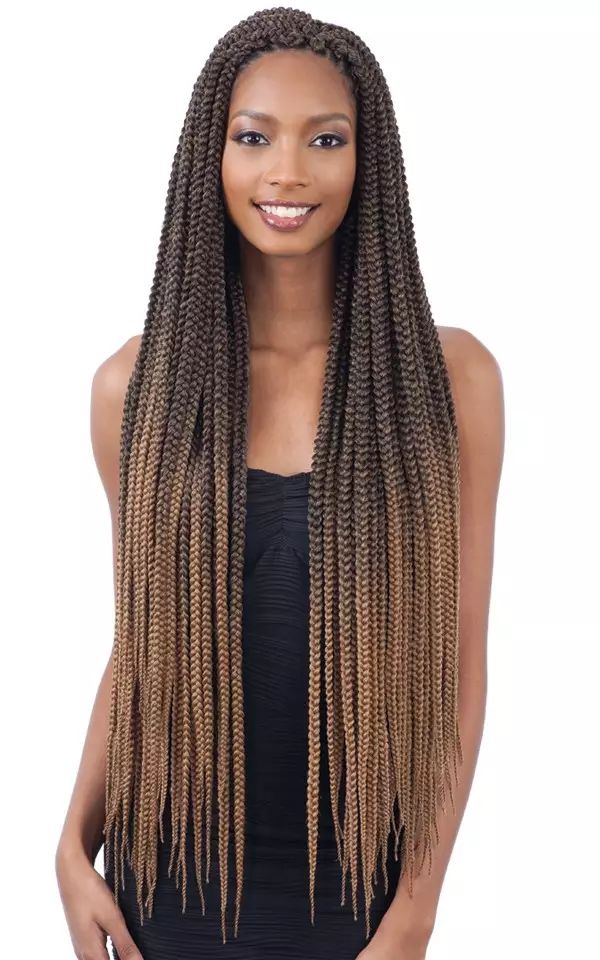 Freetress Crochet Braid 2x Large Box Braids 30 Inch Hair