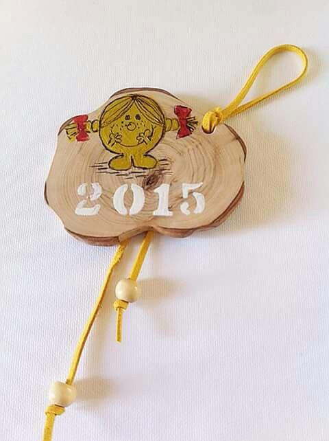 Christmas handmade charm hand painted Customed made by KIKOmania Χειροποίητο γουρι ζωγραφισμενο στο χερι